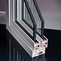 Sliding UPVC Profiles for Windows and Doors