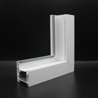 CE Certificated PVC Window Frame
