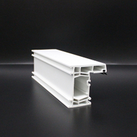 UPVC Door Frame Profiles Vinyl Window Frames